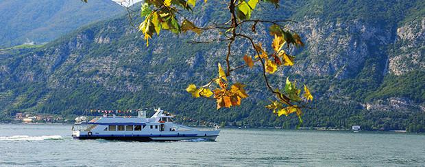 Boat tour lake Iseo